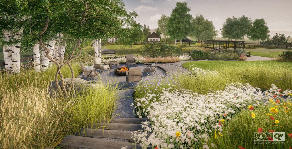 ogród nad stawem - 8