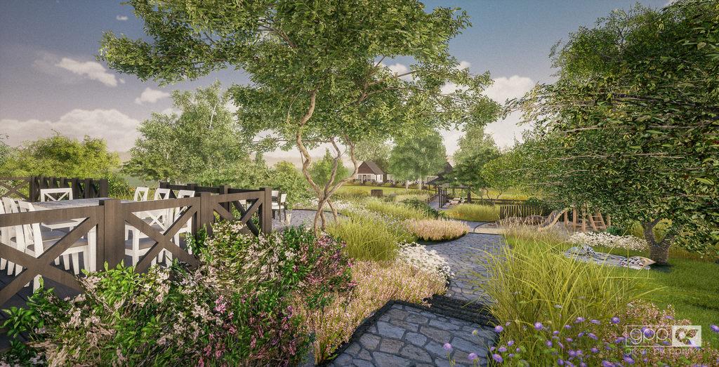 ogród nad stawem - 6