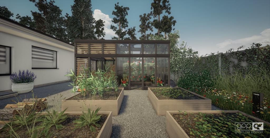 ogród pod lasem - kadr 9