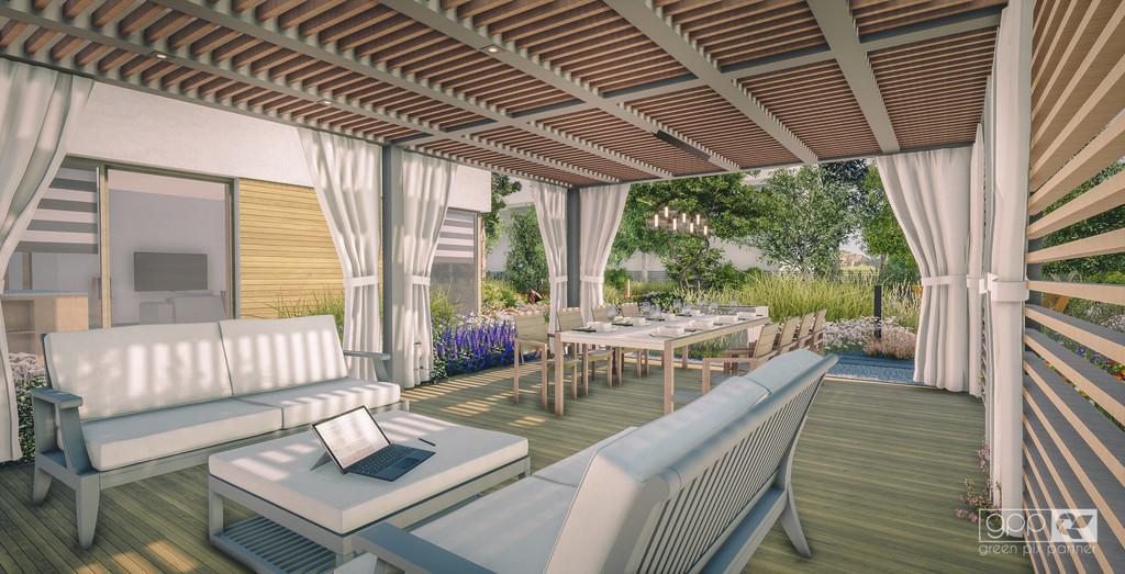 ogrodowy salon